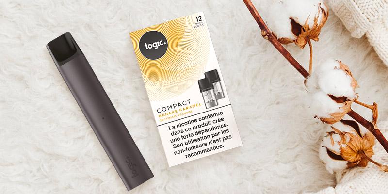 Logic Compact, une cigarette électronique pratique et facile à utiliser